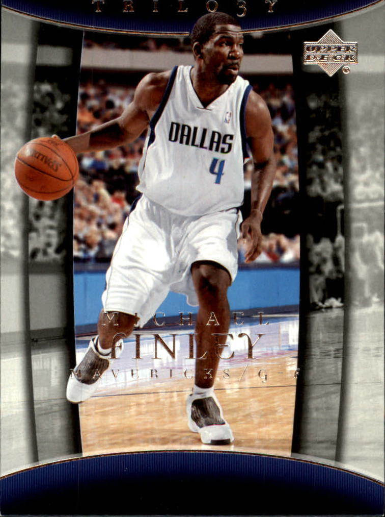 2004-05 Upper Deck Trilogy #18 Michael Finley