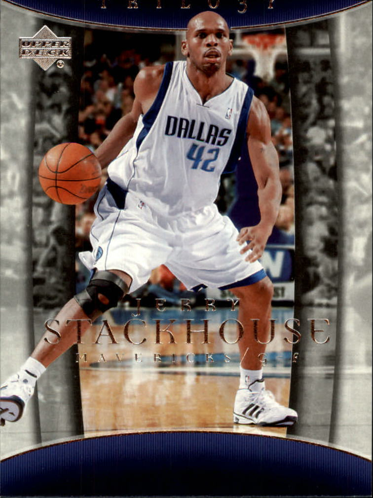 2004-05 Upper Deck Trilogy #19 Jerry Stackhouse