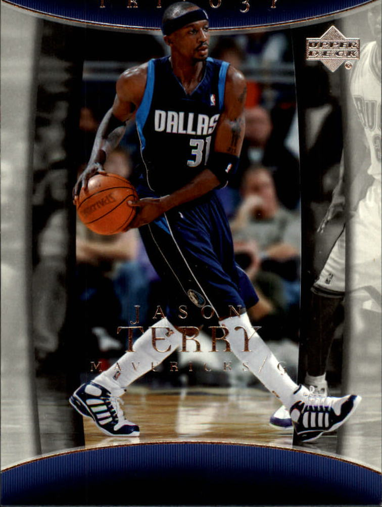 2004-05 Upper Deck Trilogy #20 Jason Terry
