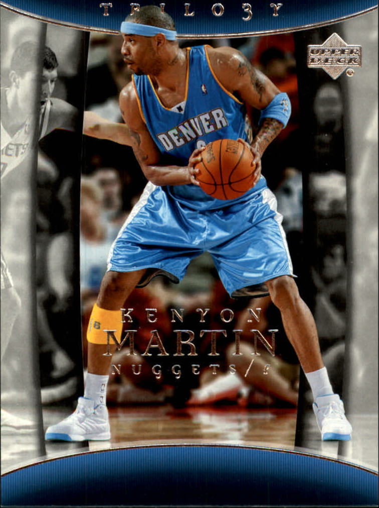 2004-05 Upper Deck Trilogy #21 Kenyon Martin