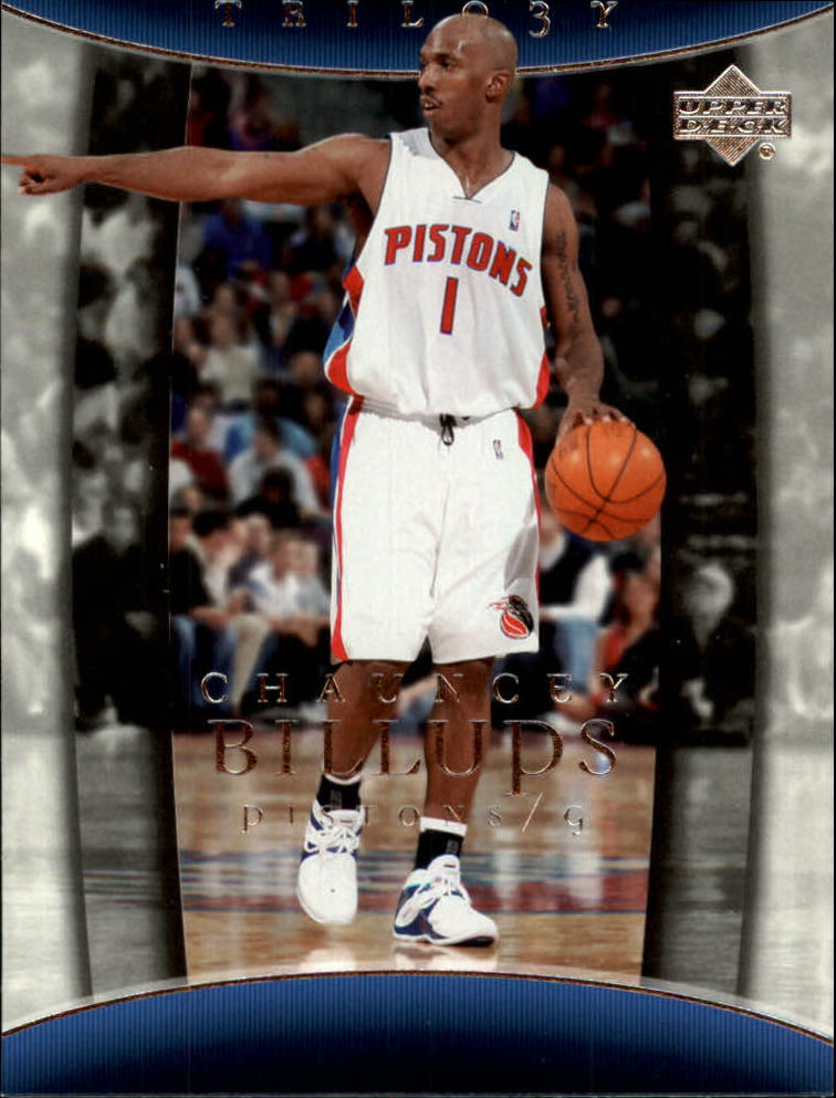 2004-05 Upper Deck Trilogy #25 Chauncey Billups