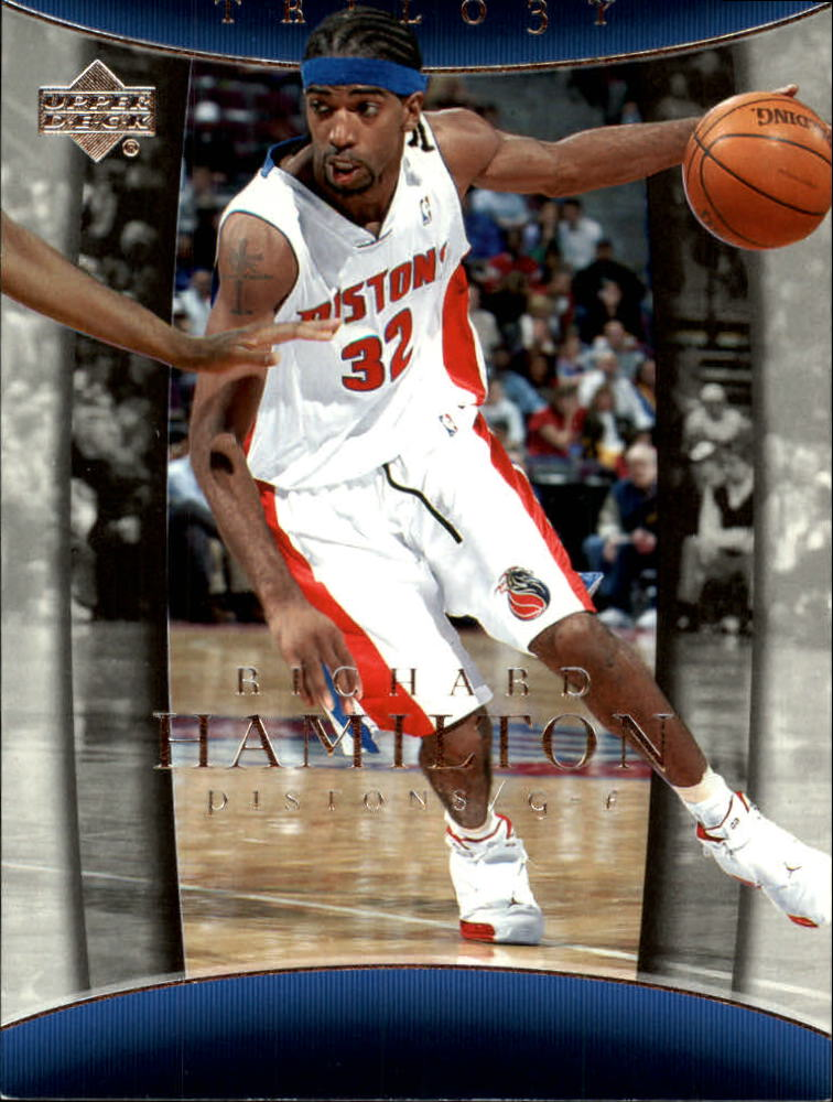 2004-05 Upper Deck Trilogy #28 Richard Hamilton