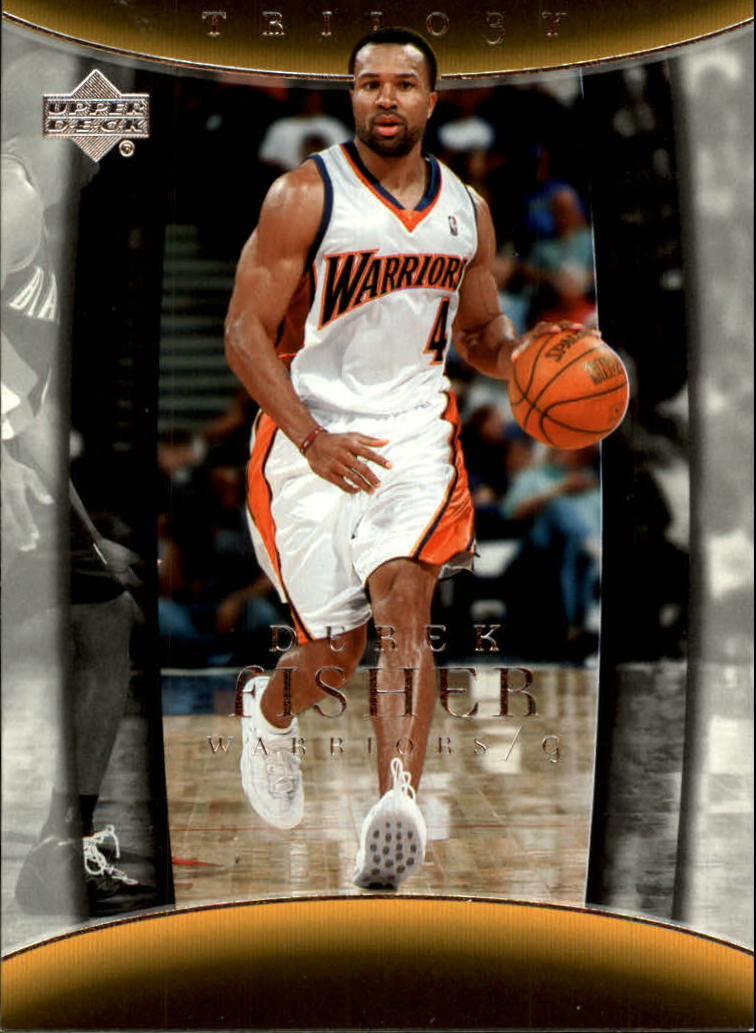 2004-05 Upper Deck Trilogy #29 Derek Fisher