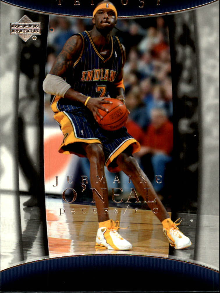 2004-05 Upper Deck Trilogy #35 Jermaine O'Neal