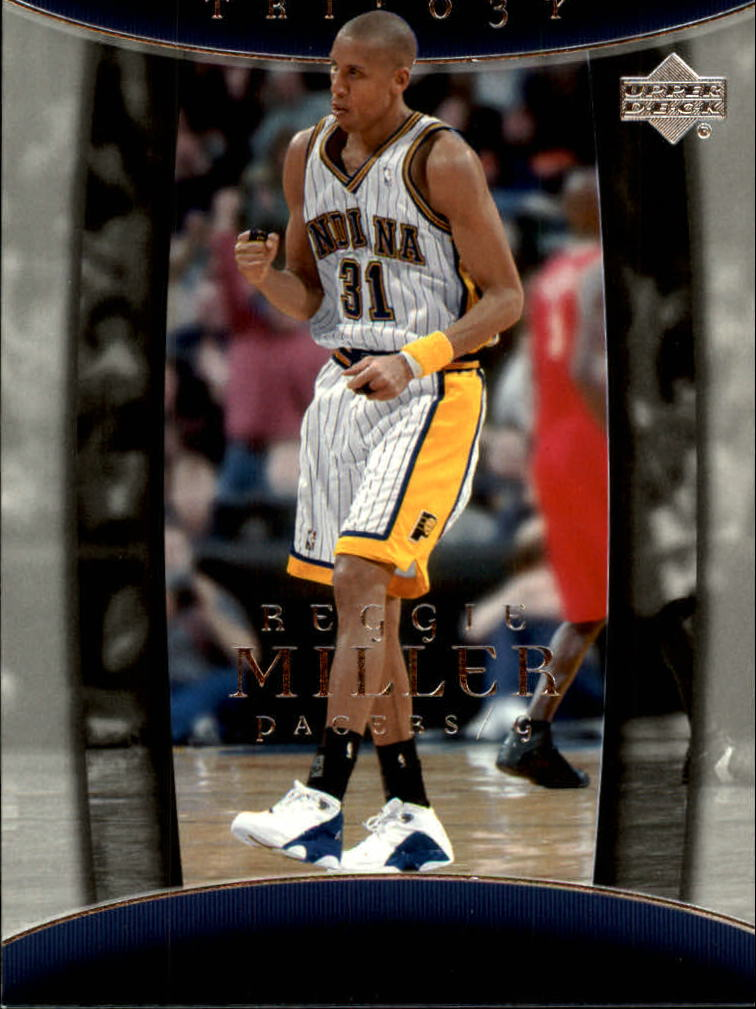 2004-05 Upper Deck Trilogy #36 Reggie Miller