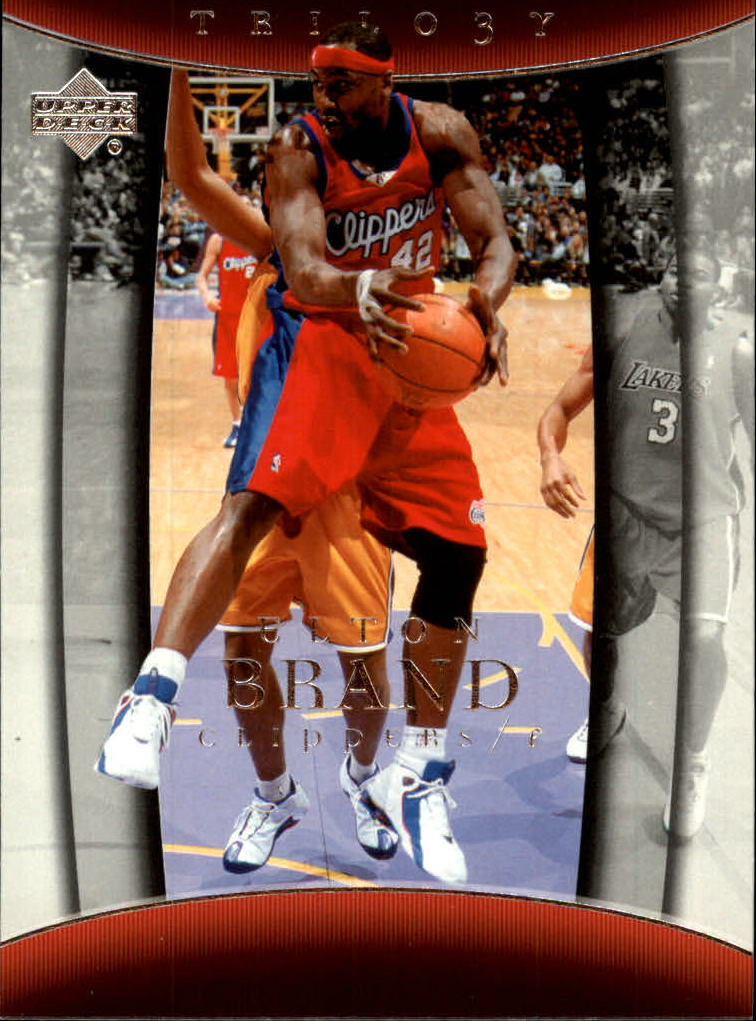 2004-05 Upper Deck Trilogy #39 Elton Brand