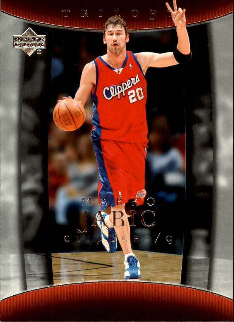 2004-05 Upper Deck Trilogy #41 Marko Jaric