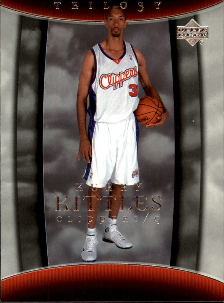 2004-05 Upper Deck Trilogy #42 Kerry Kittles