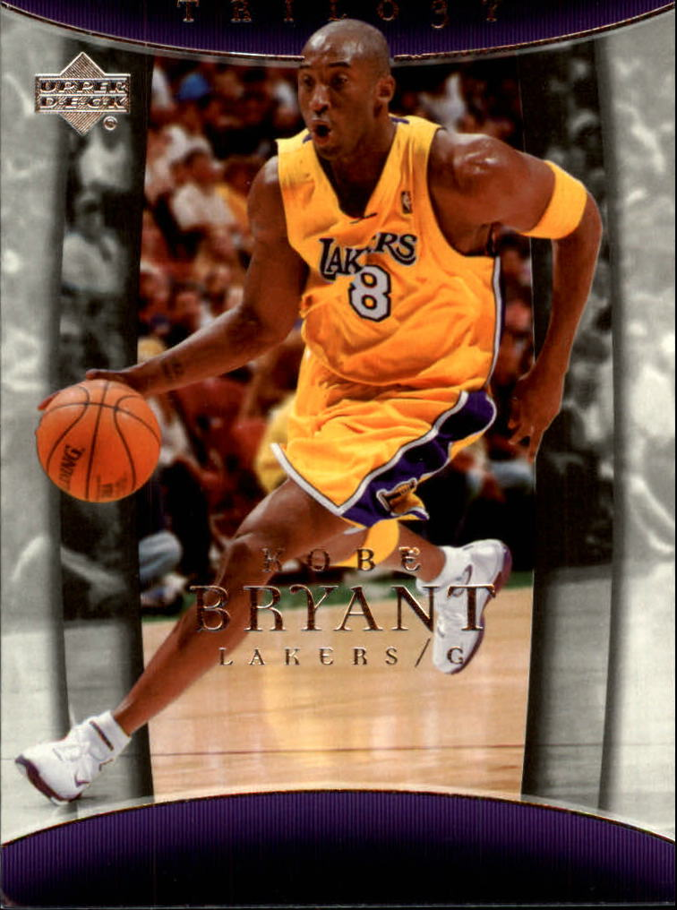 2004-05 Upper Deck Trilogy #43 Kobe Bryant