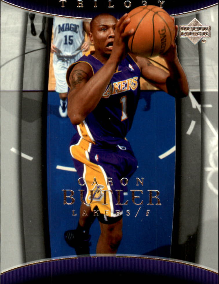 2004-05 Upper Deck Trilogy #44 Caron Butler