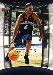 2004-05 Upper Deck Trilogy #49 Bonzi Wells