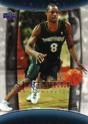 2004-05 Upper Deck Trilogy #56 Latrell Sprewell
