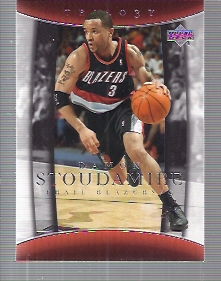 2004-05 Upper Deck Trilogy #80 Damon Stoudamire