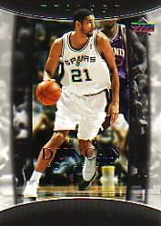 2004-05 Upper Deck Trilogy #87 Tim Duncan