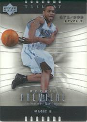 2004-05 Upper Deck Trilogy #110 Jameer Nelson RC