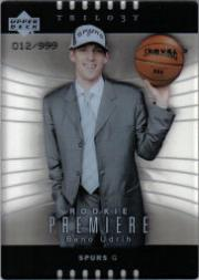 2004-05 Upper Deck Trilogy #118 Beno Udrih RC