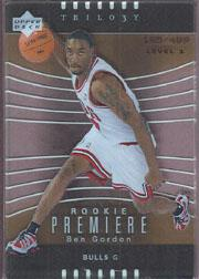 2004-05 Upper Deck Trilogy #143 Ben Gordon RC