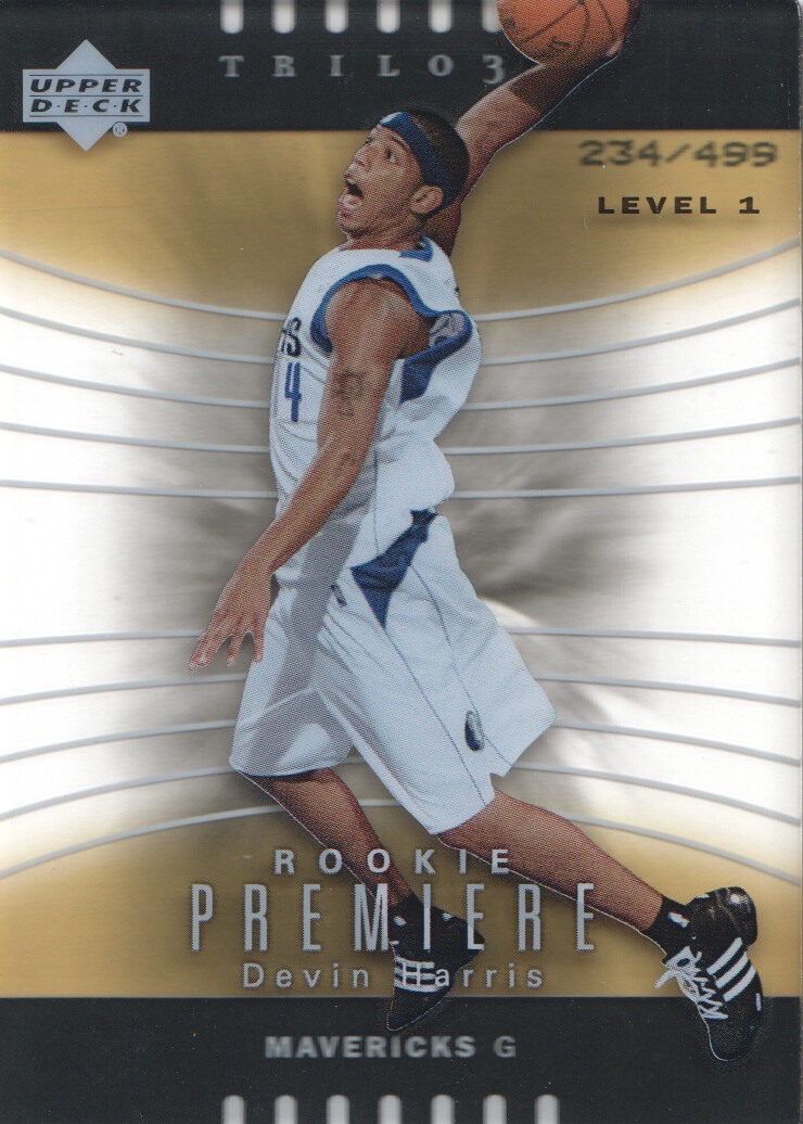2004-05 Upper Deck Trilogy #145 Devin Harris RC