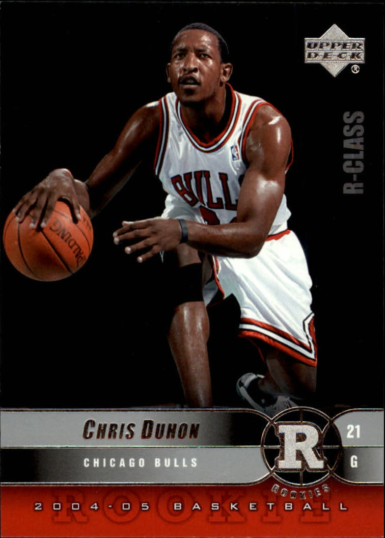2004-05 Upper Deck R-Class #128 Chris Duhon RC
