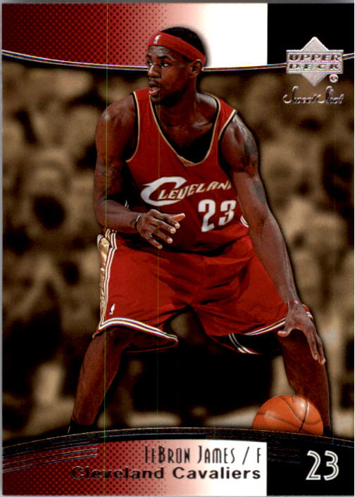 2004-05 Sweet Shot #13 LeBron James