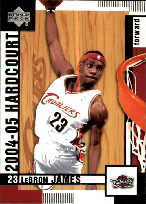 2004-05 Upper Deck Hardcourt #15 LeBron James