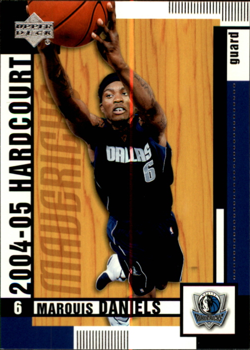 2004-05 Upper Deck Hardcourt #18 Marquis Daniels