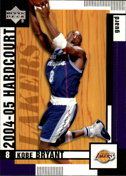 2004-05 Upper Deck Hardcourt #38 Kobe Bryant