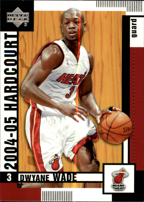 2004-05 Upper Deck Hardcourt #43 Dwyane Wade