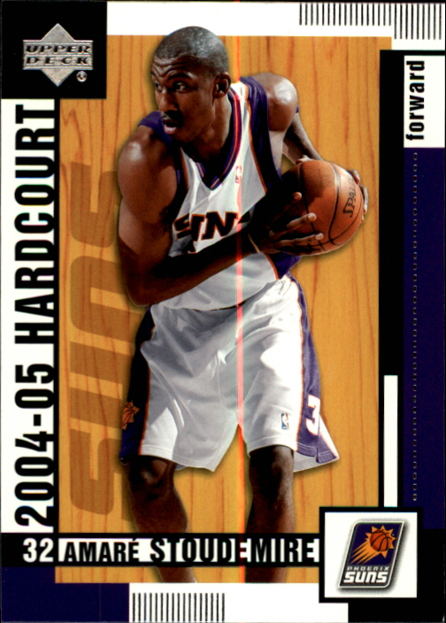 2004-05 Upper Deck Hardcourt #67 Amare Stoudemire