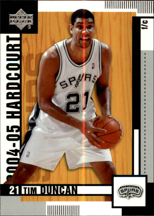 2004-05 Upper Deck Hardcourt #77 Tim Duncan