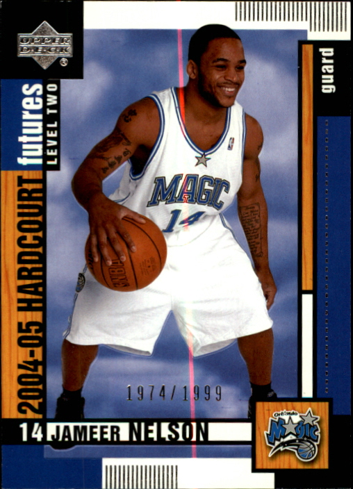 2004-05 Upper Deck Hardcourt #110 Jameer Nelson RC