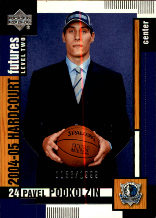 2004-05 Upper Deck Hardcourt #111 Pavel Podkolzin RC
