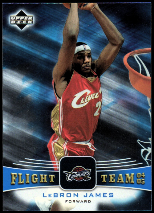 2004-05 Upper Deck Flight Team #FT45 LeBron James