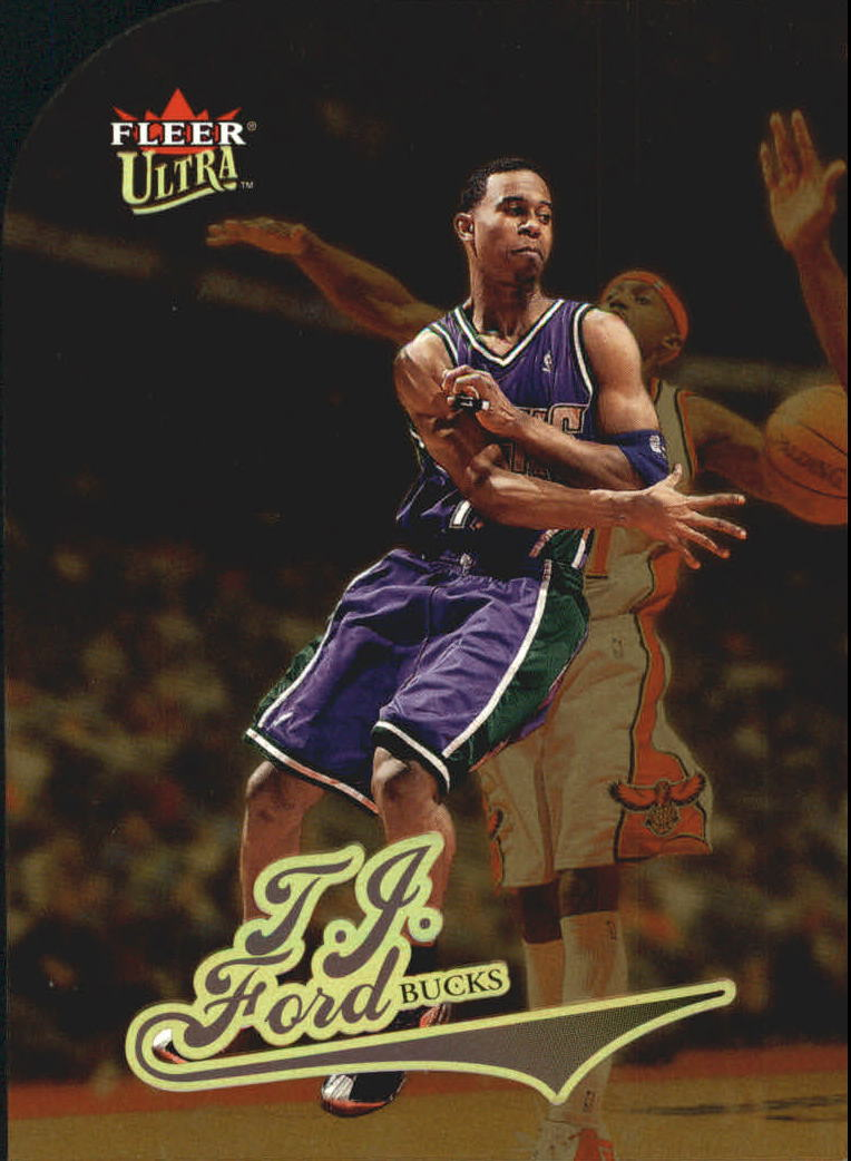 2004-05 Ultra Gold Medallion #5 T.J. Ford