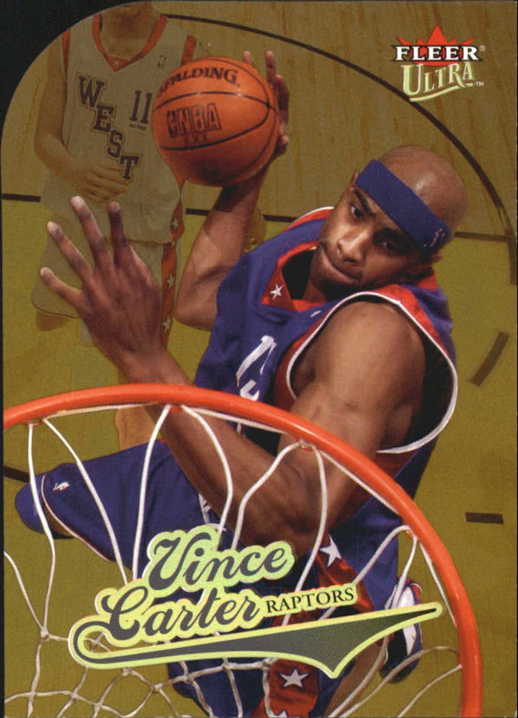 2004-05 Ultra Gold Medallion #15 Vince Carter