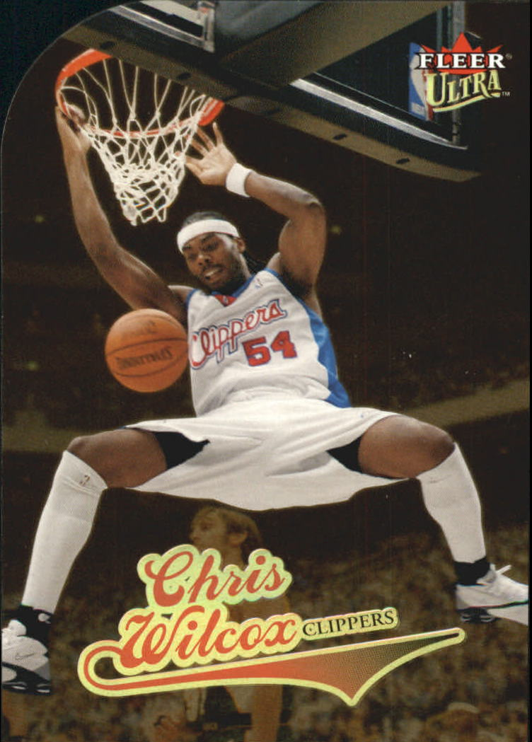 2004-05 Ultra Gold Medallion #18 Chris Wilcox