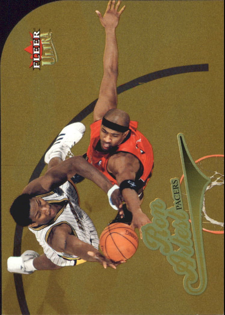 2004-05 Ultra Gold Medallion #52 Ron Artest