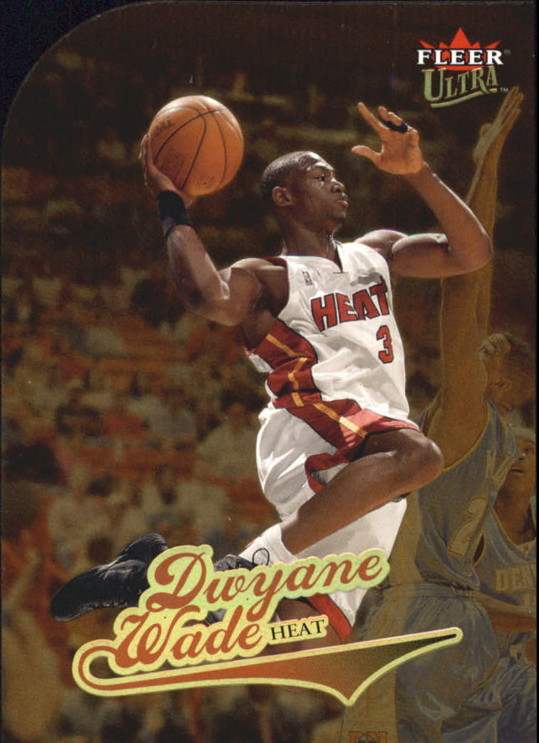 2004-05 Ultra Gold Medallion #66 Dwyane Wade
