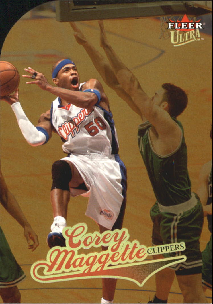 2004-05 Ultra Gold Medallion #72 Corey Maggette