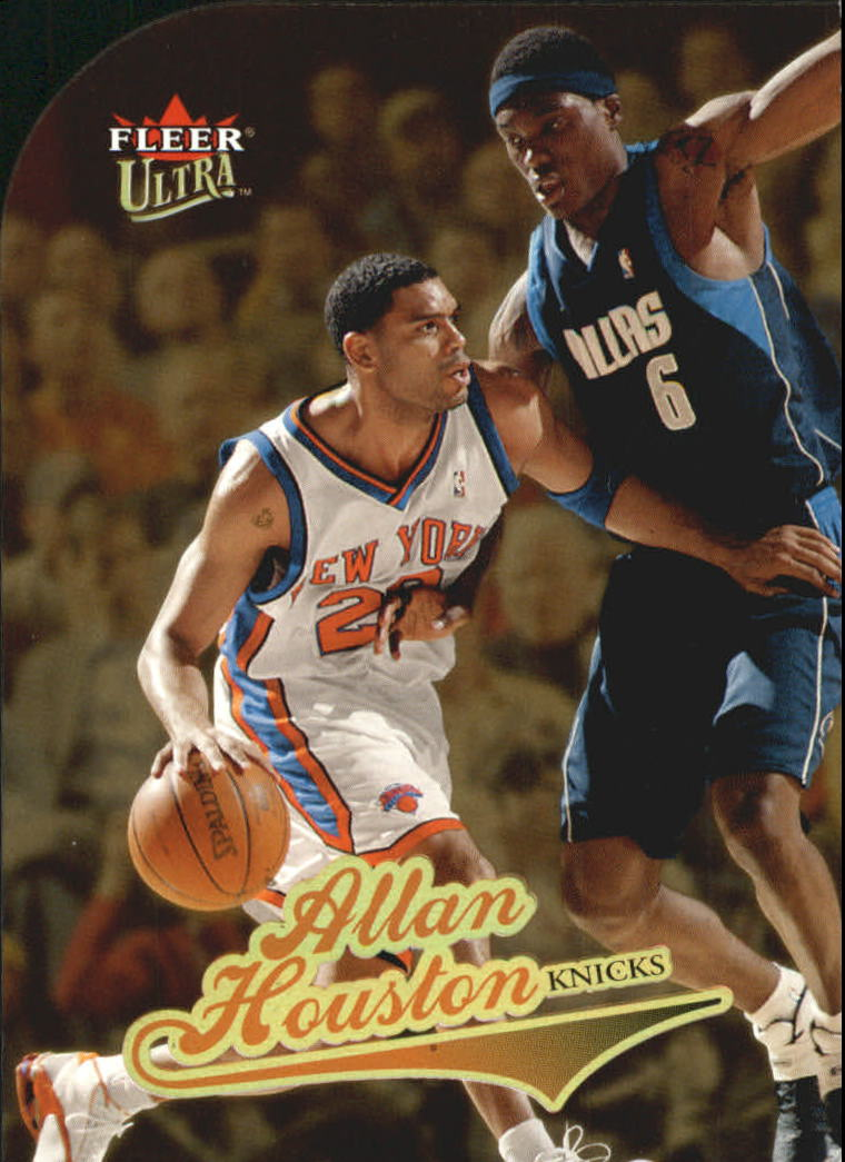 2004-05 Ultra Gold Medallion #81 Allan Houston