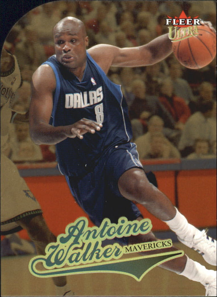 2004-05 Ultra Gold Medallion #97 Antoine Walker