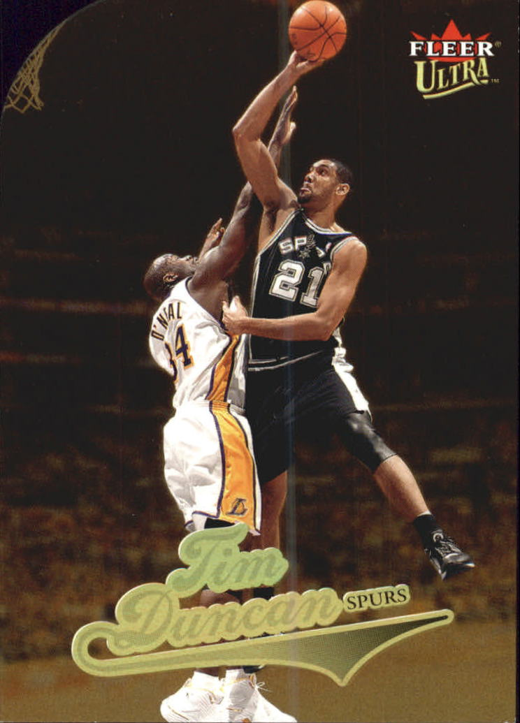 2004-05 Ultra Gold Medallion #138 Tim Duncan