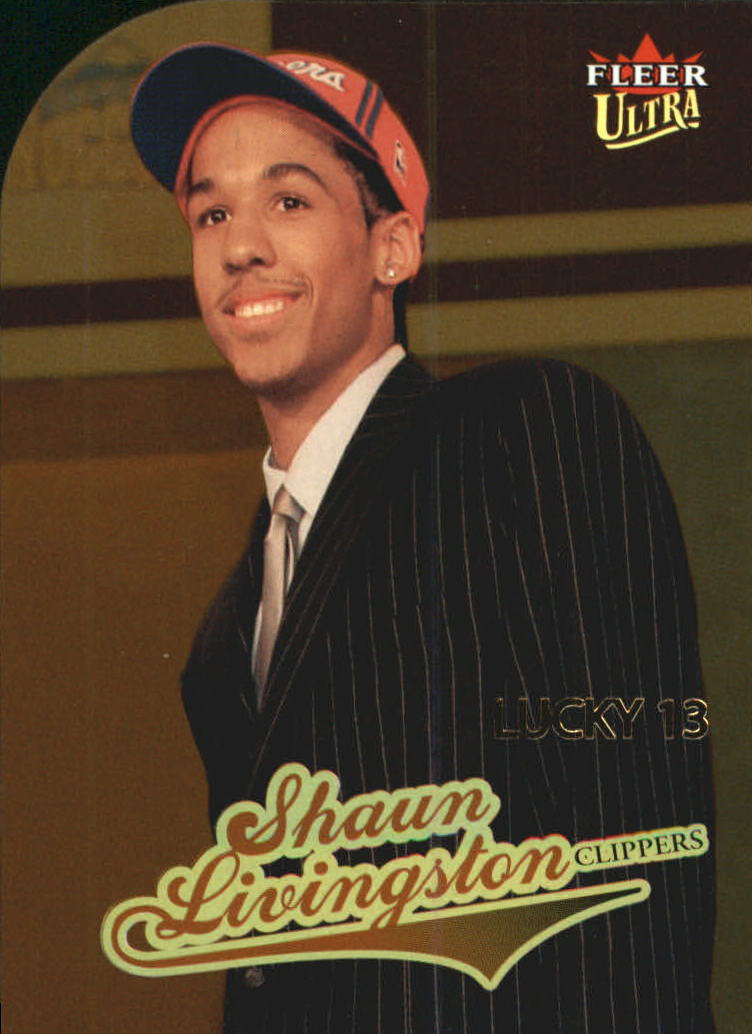 2004-05 Ultra Gold Medallion #179 Shaun Livingston L13
