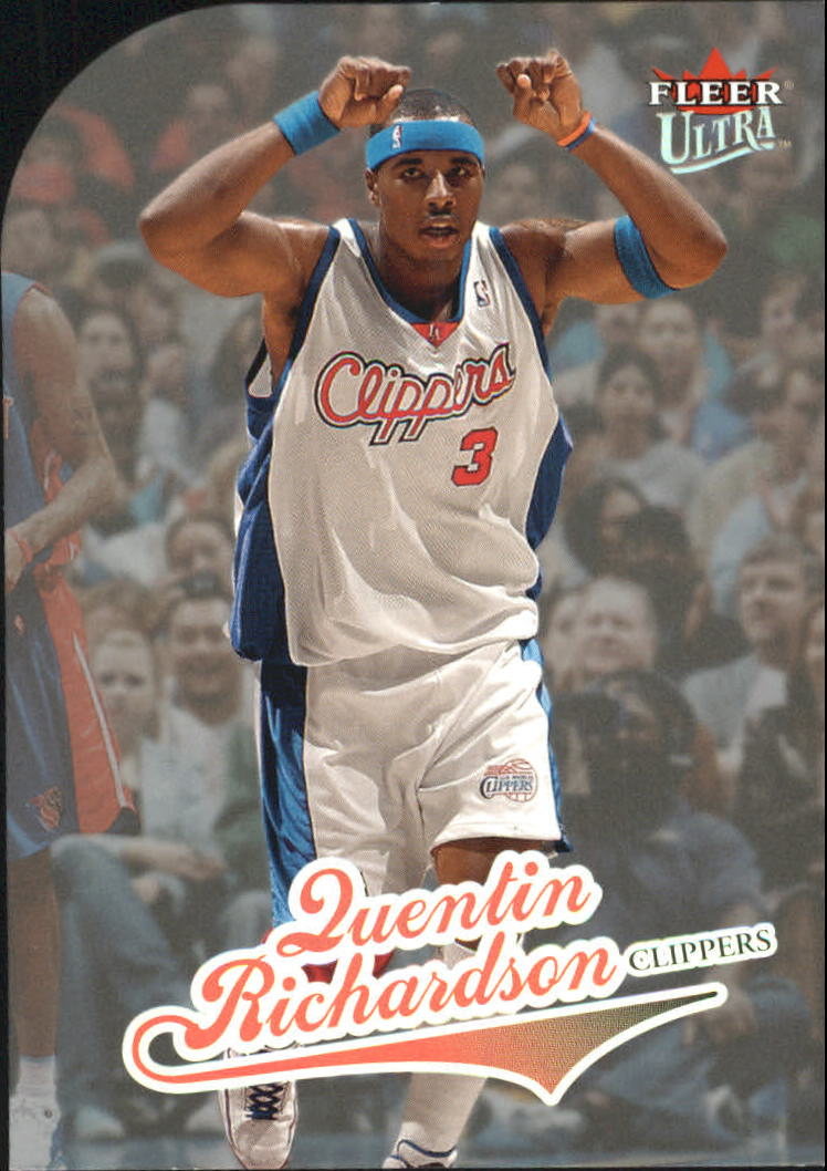 2004-05 Ultra Platinum Medallion #156 Quentin Richardson