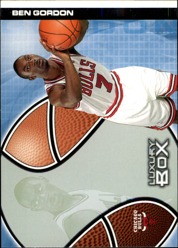 2004-05 Topps Luxury Box #103 Ben Gordon RC