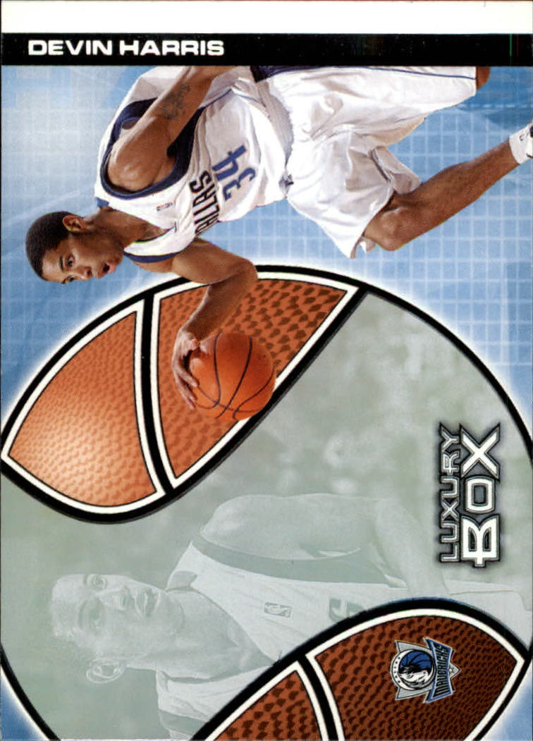 2004-05 Topps Luxury Box #105 Devin Harris RC