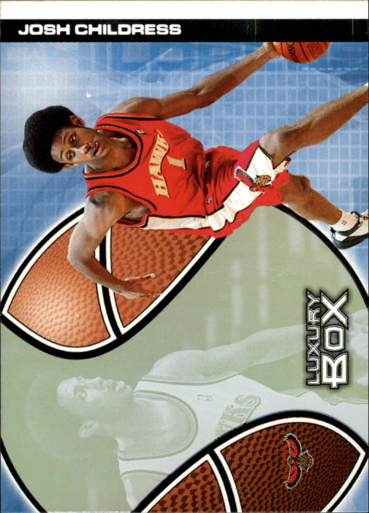 2004-05 Topps Luxury Box #106 Josh Childress RC