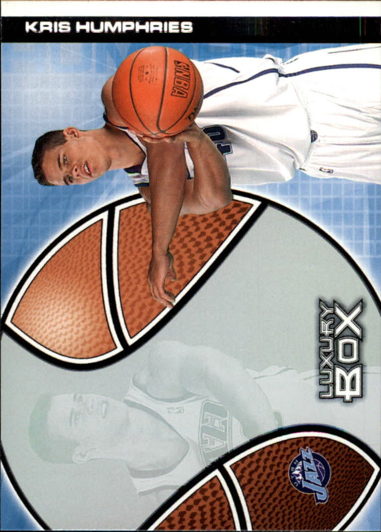 2004-05 Topps Luxury Box #114 Kris Humphries RC