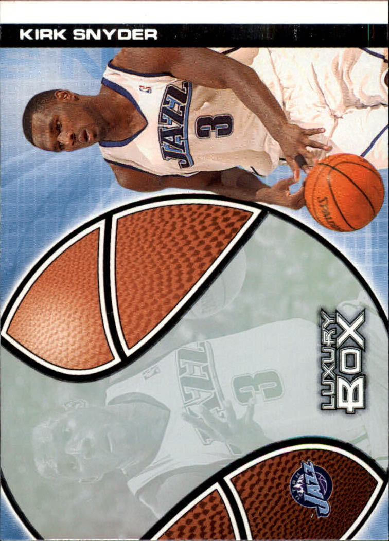 2004-05 Topps Luxury Box #115 Al Jefferson RC