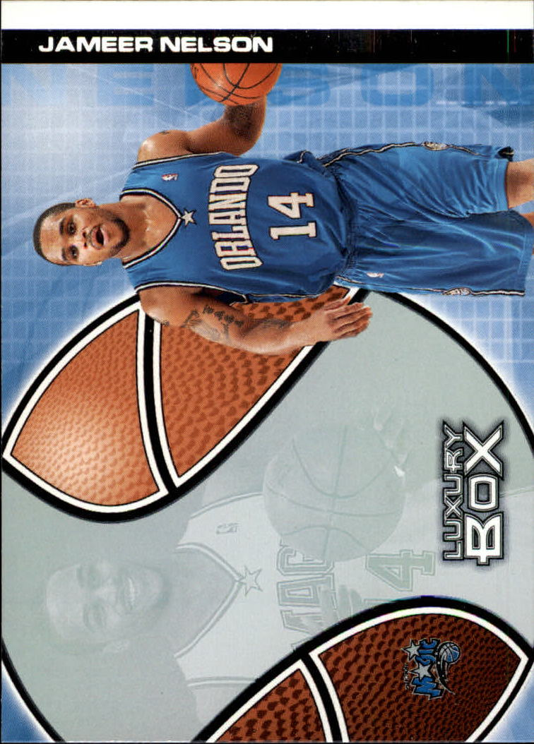 2004-05 Topps Luxury Box #120 Jameer Nelson RC
